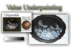 Chippendale Decorative Painting; Decorative Art Classes at the Art Apprentice Online