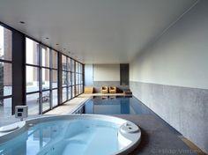 binnenzwembad, zwembaden, mozaiek zwembaden, overloop zwembad, betonnen zwembaden