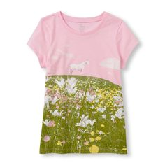 Short Sleeve Horse Graphic tee | The Children's Place