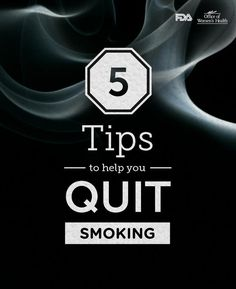 Learn ways to stick to your New Year's resolution and be smoke-free.