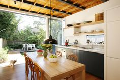 Kitchen and ceiling inspiration by twarchitects