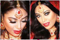 Inspiring Asian bridal makeup video tutorial.