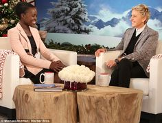 A fairly long time ago in an audition room not so far away: Lupita Nyong'o revealed how she got her part in Star Wars: The Force Awakens on The Ellen DeGeneres Show