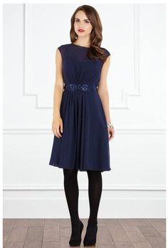 Coast Lori lee short Navy Blue dress