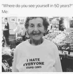 Where do you see yourself in 50 years...
