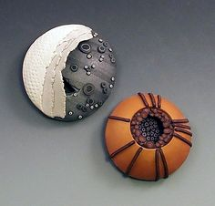 Loretta Lam, domed pins