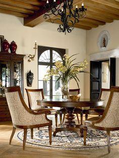 Ernest Hemingway Rift Valley Round Dining Table