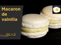 Macaron de vainilla relleno de trufa blanca con vainilla (Receta) | De C...