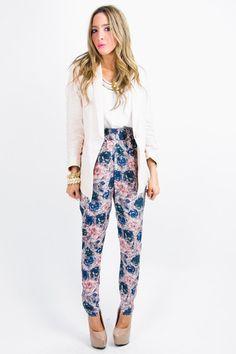 ALICE FLOWER PANTS