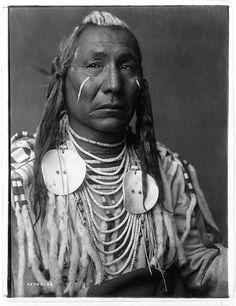 Native American Edward Curtis Apsaroke Man