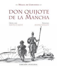 Don Quijote de la Mancha (portada de libro) [Antonio Mingote]