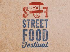 San Francisco Street Food Festival Typography