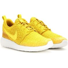 pretty nice e7505 f9bc7 Nike Nike Roshe One Flyknit Sneakers ( 145) ❤ liked on Polyvore featuring  shoes,