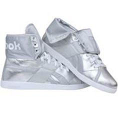 Reebok Womens Top Down Metallics (silver / steel / white) 32-J05438 - $69.99