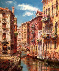 Venice by artist Sam Park