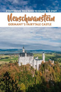 A guide to visiting Neuschwanstein Castle, including how to get there and the best spots to take photos.