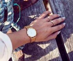 I need Larson & Jennings in my life Larsson And Jennings Watch, Daniel Wellington, What To Wear, Feminine, Watches, My Style, Instagram Posts, Jewerly, Shoes