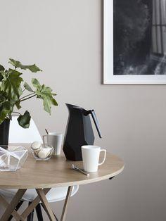 Kaffekanne med kant