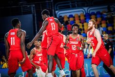 Canadian Men Defeat USA 99-87 in FIBA U19 World Cup Semifinals   CAIRO EGYPT(July 8 2017)- The U19 Men's National Team defeated the USA 99-87 in the semifinals of theFIBA U19 Basketball World Cup 2017. The win over the defending U19 World Championsecures Canada's first-ever birth in the gold medal game at the tournament.  R.J. Barrett (Mississauga ON) led the way with 38 points 13 rebounds and 5 assists while Abu Kigab (St. Catharines ON) added 14 points and 6 rebounds. Nate Darling…