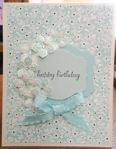 Monochromatic Birthday  (TSC0214) by ~CA~ - Cards and Paper Crafts at Splitcoaststampers