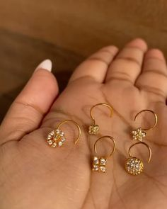 "Indiatrend on Instagram: ""Nose studs for pierced noses! We love how dainty and sparkly these are! Head over to the website for our entire collection!…"" Nose Stud, Nose Rings, Our Love, Studs, Website, Earrings, Collection, Jewelry, Instagram"