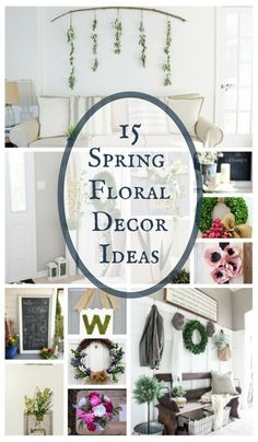 407 Best Spring Decor Images In 2019 Diy Ideas For Home Homemade