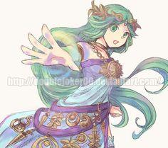 Kid Icarus Uprising Nintendo Princess Games Gifs Video Game Art Super Smash Bros Videogames News Chibi