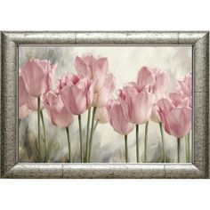 eGoodn Diamond Painting Art Kit DIY Cross Stitch by Number Kit DIY Arts Craft Wall Decor, Full Drill inches by inches, Pink Tulips, No Frame Arte Floral, Watercolor Flowers, Watercolor Art, Framed Art Prints, Framed Artwork, Wall Art, Wall Decor, Tulip Painting, Painting Art