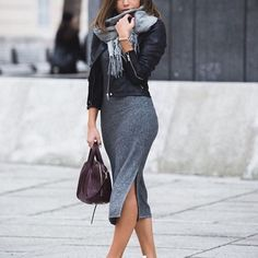 Inspiration look Day to night : Great day to night outfit for a casual day at the office! [@fashionfirst91]