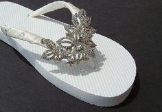 wedding flip flop