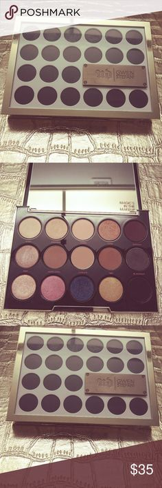 Urban Decay Gwen Stefani Eyeshadow Palette NEW This is a limited special edition Urban Decay Gwen Stefani Eyeshadow Palette.  Its still brand NEW, I've only used 2 of the colors, ONE TIME!  THE COLORS ON THIS PALETTE ARE BEAUTIFUL Check out my closet, Bundle & save save save!  Don't forget to follow, like, & share too please! 🌞💄💋💗🌞 Urban Decay Makeup Eyeshadow