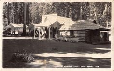 Real Photo Postcard Wilson's Rocky Point Resort in Rocky Point, Oregon~108269
