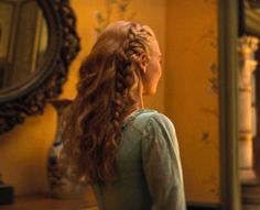 good morning let's get these frogs Cinderella Live Action, Cinderella Hair, Cinderella 2015, Cinderella Quotes, Disney Hairstyles, Hairstyles Haircuts, Wind In My Hair, Beach Hair, Conte