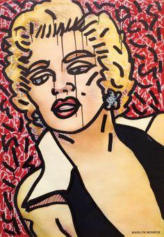 Family Affair - Keith Haring's Marilyn Monroe