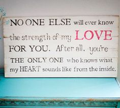 Quote for babies room