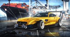 Mercedes Amg Gt S Inbound Racer By Yasiddesign On Deviantart