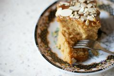 Znikające ciasto krówkowe. - Makaron i Rodzynka