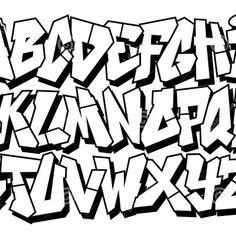 Easy Lettering Fonts Alphabet Easy Lettering Fonts Alphabet Best Font Alphabet Ideas On - Graffiti Arts Library Street Art Graffiti, Graffiti Kunst, Graffiti Text, Graffiti Writing, Graffiti Tagging, How To Draw Graffiti, Graffiti Quotes, Alphabet Tag, Graffiti Lettering Alphabet