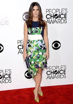 Sandra Bullock at the 2014 People's Choice Awards