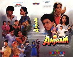 Shahrukh Khan and Madhuri Dixit - Anjaam (1994)    Srk Fanatik Indo:
