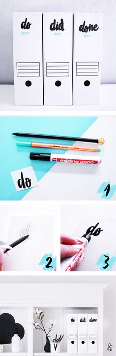 DIY Workingplace / DIY Typo / Typo Ideas / Organize Room