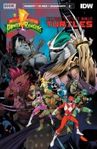Mighty Morphin Power Rangers/Teenage Mutant Ninja Turtles #3 by Ryan Parrott - Digitall Media Rita Repulsa, Mighty Morphin Power Rangers, Teenage Mutant Ninja Turtles, Ebooks, Comic Books, Comics, Anime, Cartoon Movies, Cartoons