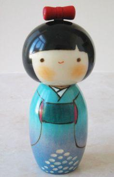 Kokeshi Doll Ajisai