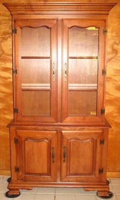 Tell City Hutch - China Cabinet-Cupboard. If you have one of these ...