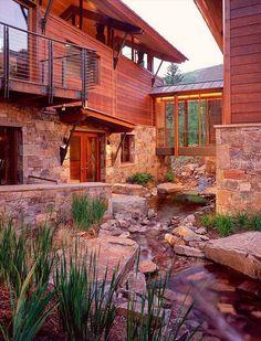 Phenomenal modern-rustic mountain home in Aspen