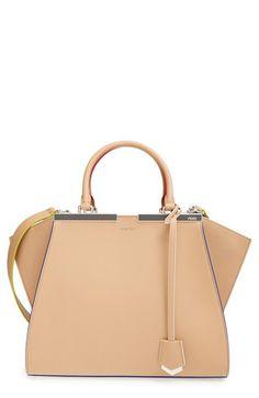 Fendi  Small 3Jours  Leather Shopper available at  Nordstrom Fendi Designer cbbb15568d569