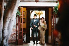 Romantic Los Angeles Wedding at Carondelet House