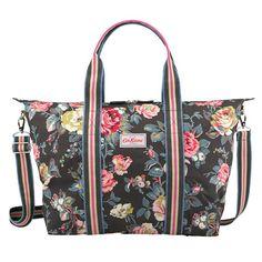 Garden Rose Foldable Overnight Bag