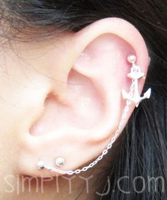 Hey, I found this really awesome Etsy listing at https://www.etsy.com/listing/125040371/sterling-silver-single-anchor-cartilage