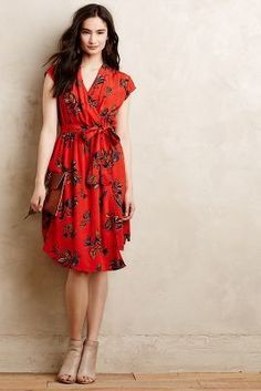Maeve Noronha Wrap Dress